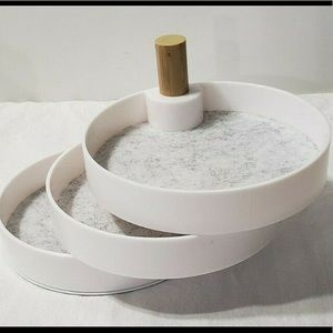 2Bandits Three Tired Lined Catchall Tray